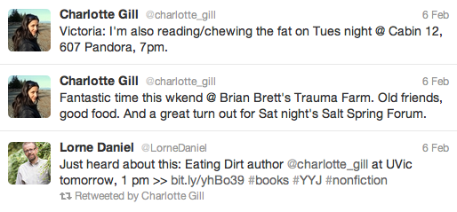 Eating Dirt Author Charlotte Gill Shares A Mouthful Of Inspiration