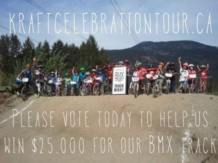 Vote for Pemberton in the Kraft Celebration Tour
