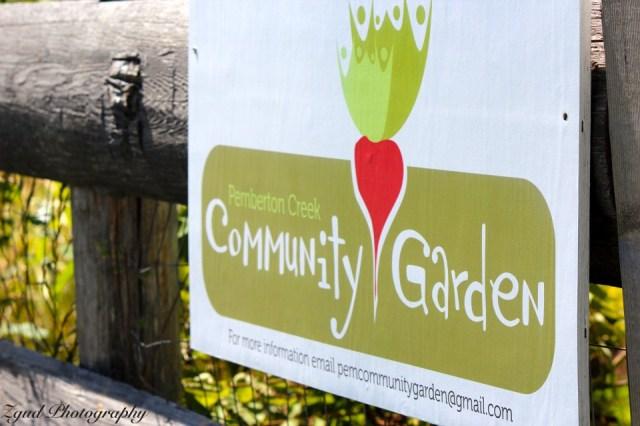 Pemberton Creek Community Garden