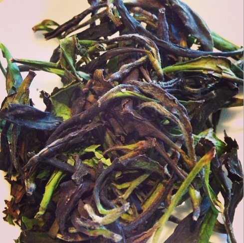 Canadian Oolongw ith our Tea Plants single leaf and buds. Delicious.